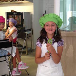 taller cocina niños